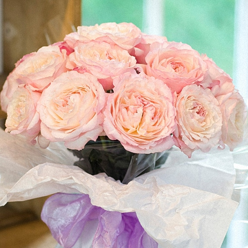 All Our Specials Peony Bouquets Garden Rose Packs Vase